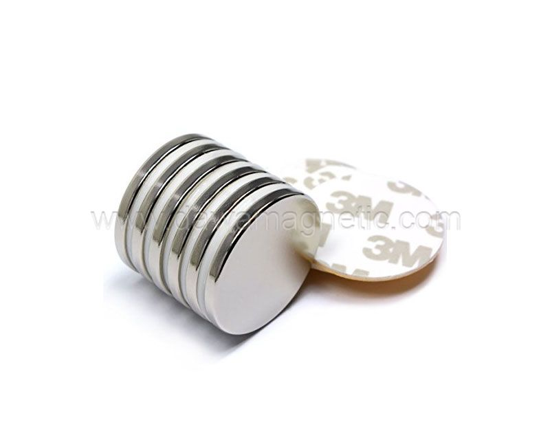 N35 Strong Cylinder Disc Dia10mm Sintered NdFeB Magnet