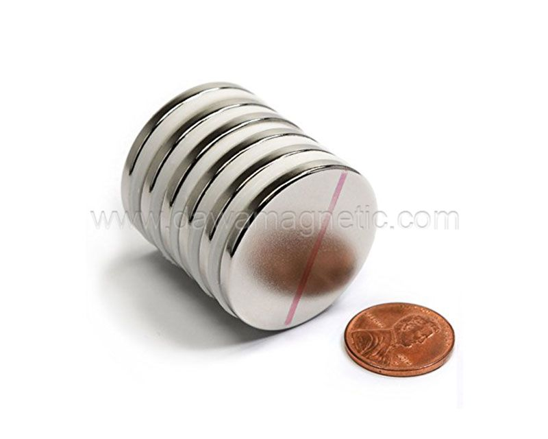 Disc Strong Rare Earth Neodymium Adhesive Magnets