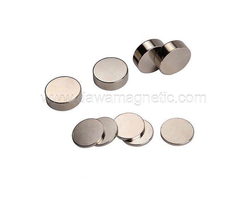 Big Size Cylinder Shape Ndfeb Magnets for Speaker