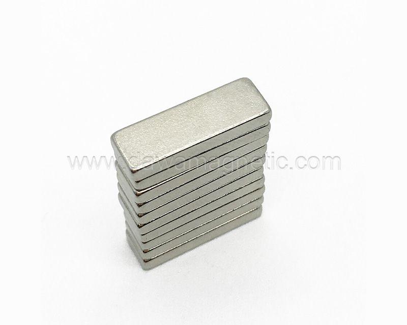 Permanent neodymium ultra thin magnet
