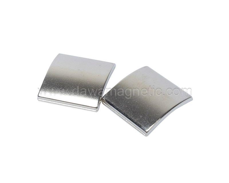 Customized Strong NdFeB Segment Permanent Neodymium Arc Magnets