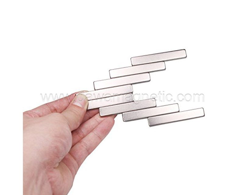 Strong Permanent Sintered Neodymium bar Magnets with Double-sided Adhesive