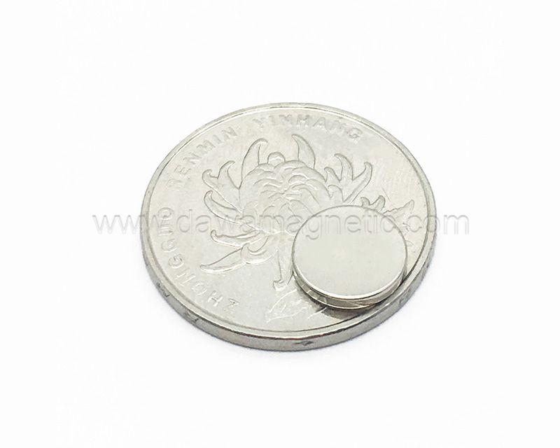 N45 Neodymium Magnet Disc NdFeB Permanent Magnet