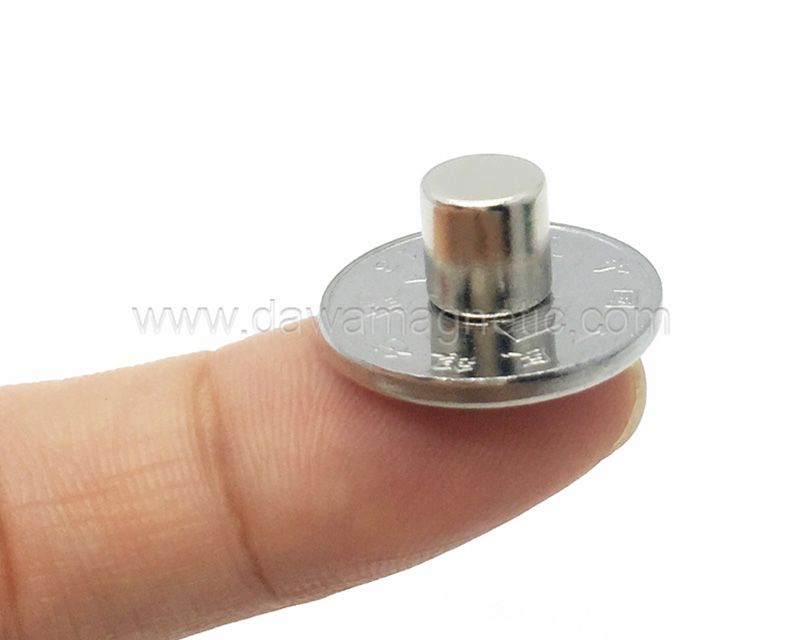 N35 Rare Earth Permanent Strong Neodymium Magnet, Cylinder Magnet