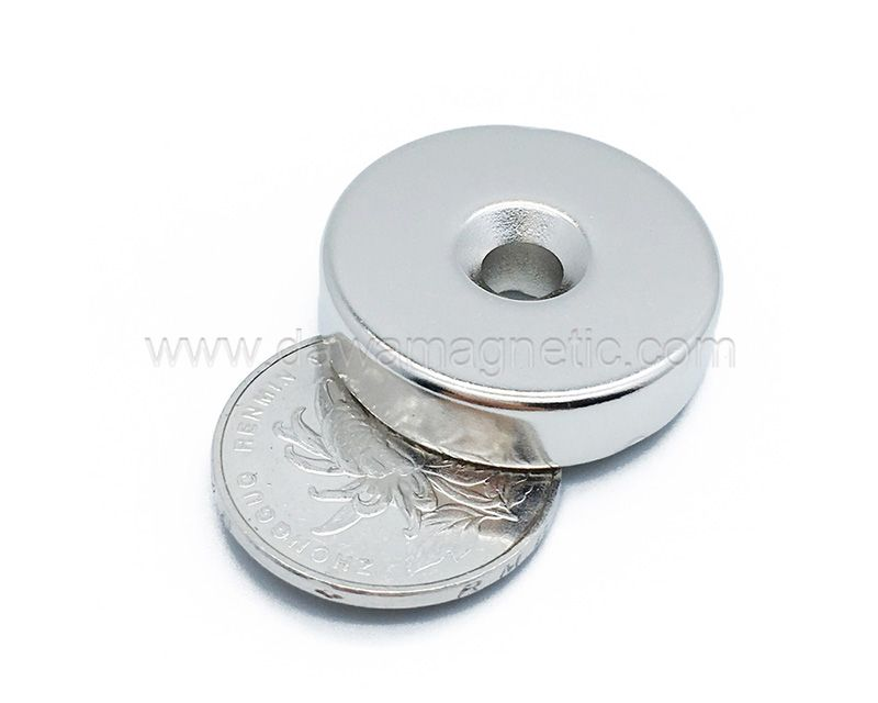 Round Small Permanent N35 neodymium Magnets for clothing or box