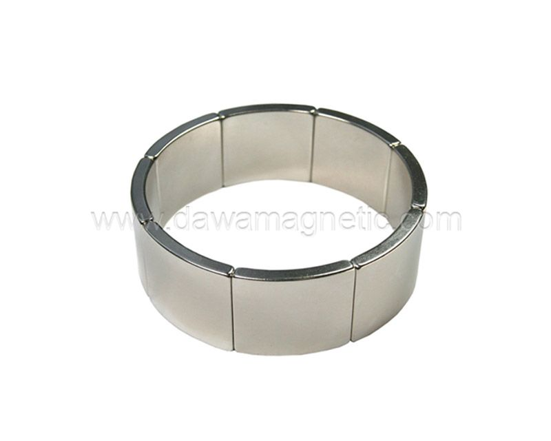 Segment Magnet NdFeb Magnet Rare Earth Permanent Magnet