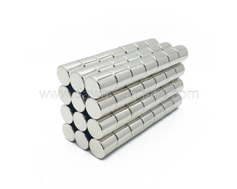 Neodymium Magnets N35 Cylinder Magnet Super Permanent Magnet