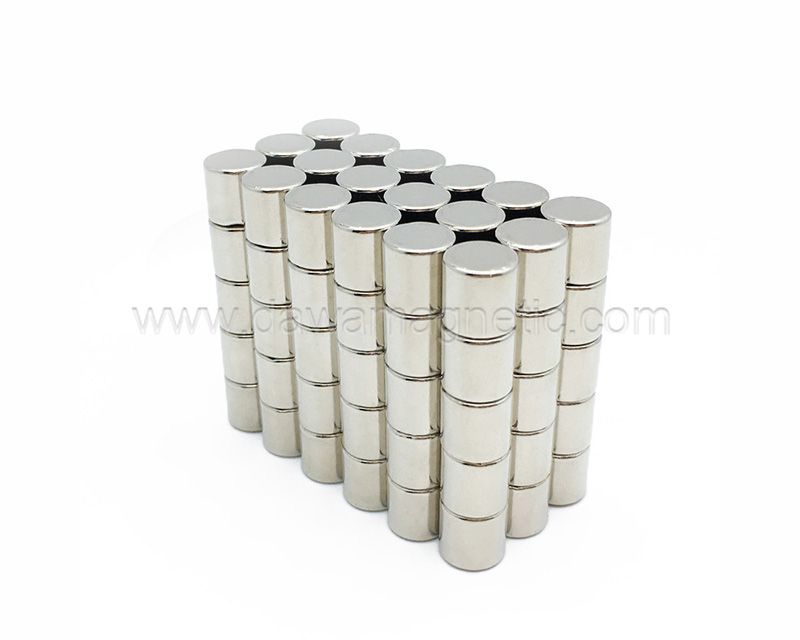 Strong Silver Disc Neodymium Magnet Factory N35