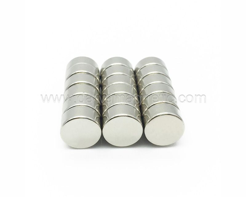 Magnet Materials Strong N52 Curved DC Neodymium Magnet Motor Magnets