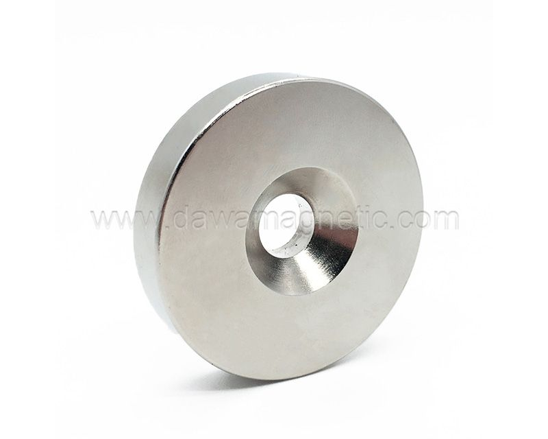 Nickel Coated Neodymium Magnet
