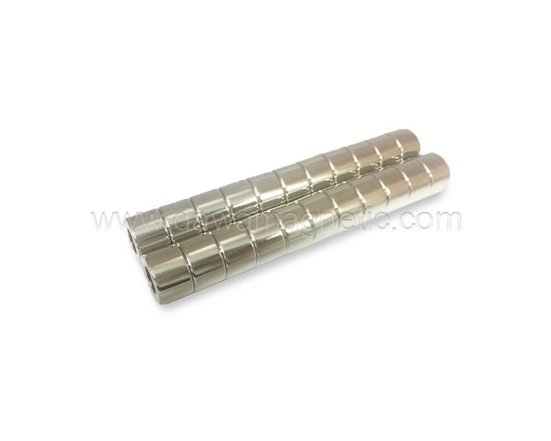 N32-N55 Mini Super Strong Ring Rare Earth Fridge Neodymium Magnet