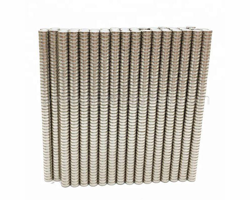 Gold Au Coating N35 N38 N40 N42 N45 48 N50 N52 N54 Disc Bulk NdFeB Neo
