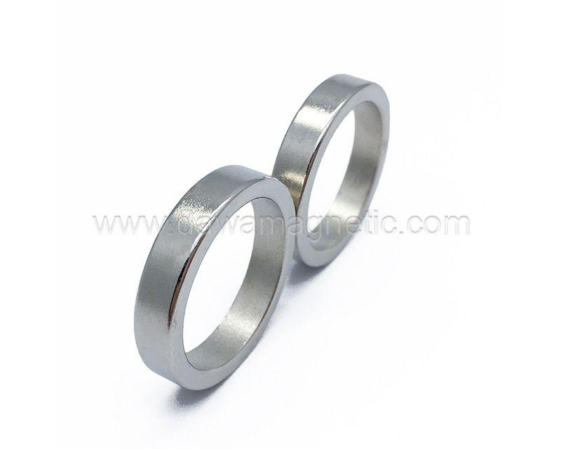 Customized Size Ndfeb Neodymium Ring Magnet N45