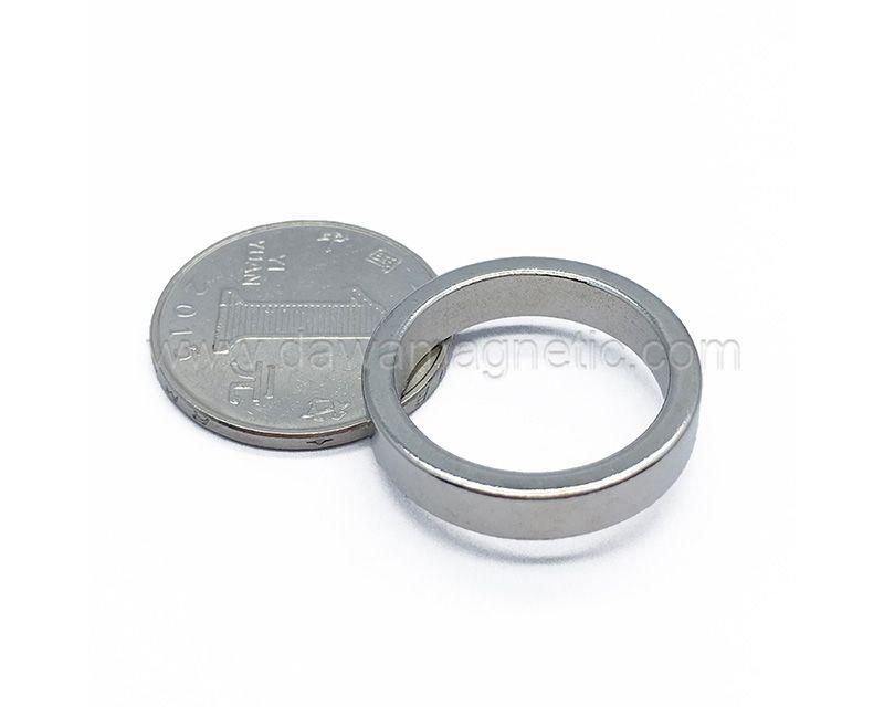 N52 Neodymium Sintered Neodymium Strong Ring Permanent Sintered NdFeB Magnet