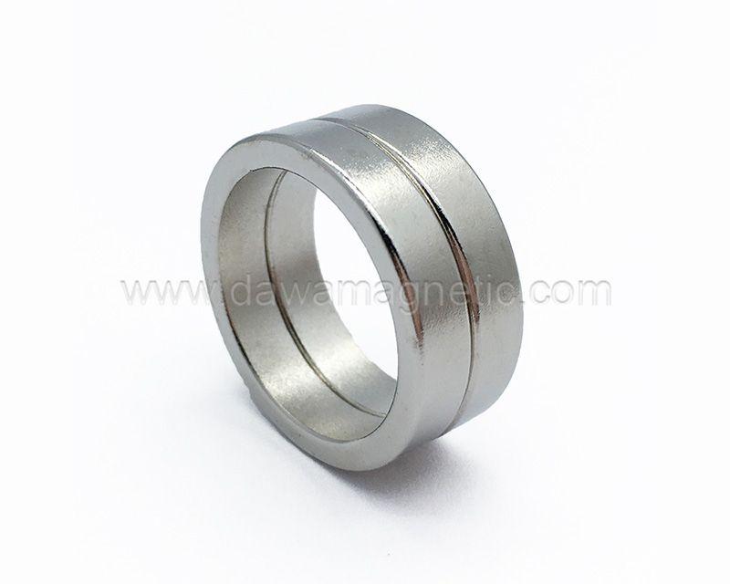 Customized Permanent Neodymium Magnet Ring For Speaker