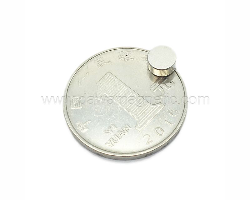 Round NdFeB Disc Magnets Super Powerful Strong Rare Earth NdFeB Magnet