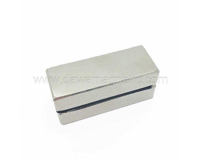 Factory Price Neodymium Magnet Block 50x10x10 N52 NdFeB Magnet