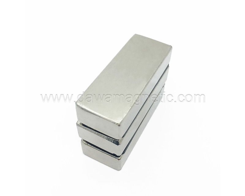 Square NdFeb Magnet Block Shapes Rectangular Neodymium Magnet